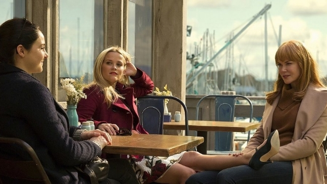 5 Emmy wins for Big Little Lies, starring Reese Witherspoon, Nicole Kidman, Zoë Kravitz, Shailene Woodley and Laura Dern