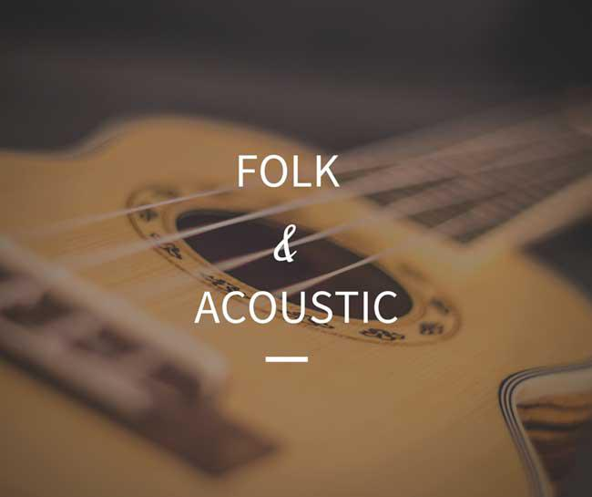 Folk / acoustic   There is nothing like a good acoustic strumming and the ukulele melody which will put a smile on your listener face.    LISTEN