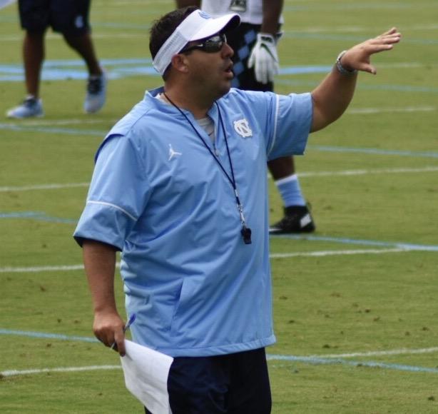 Defensive coordinator John Papuchis