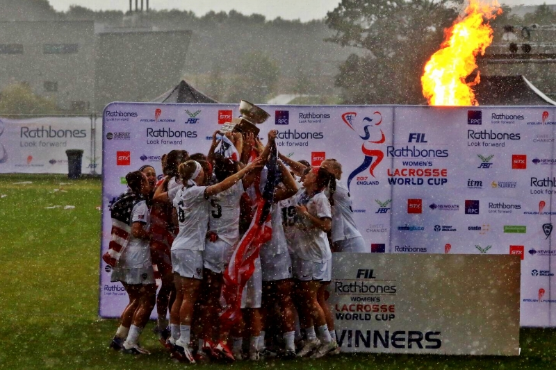 The U.S. National Team celebrated a World Cup victory in England in July.