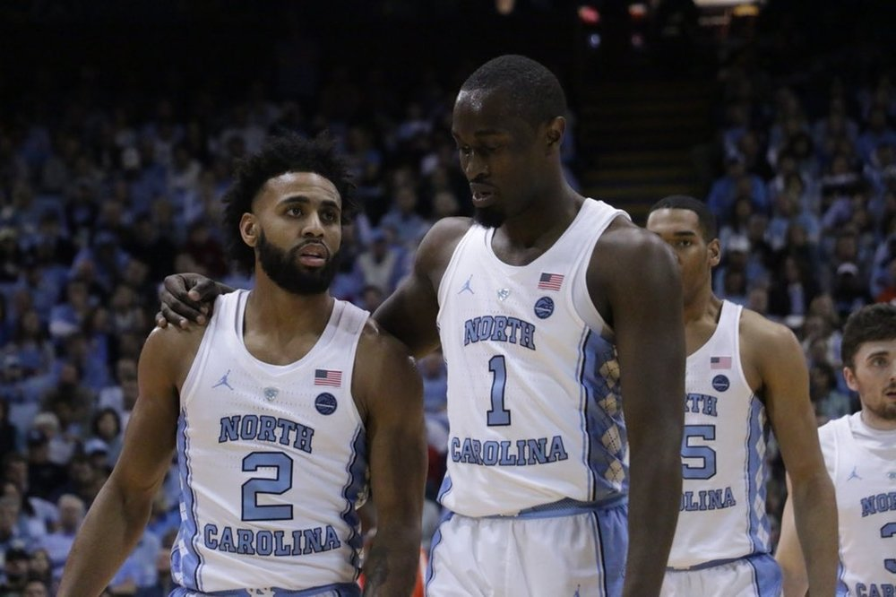 Joel Berry (2) and Theo Pinson (1) are the facilitators of UNC's go-to lineup.