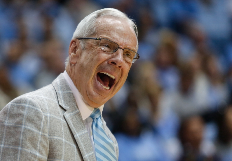 Roy Williams has coached teams that drop disappointing games after a title season, such as the 2009-10 squad. | Photo by Alex Kormann
