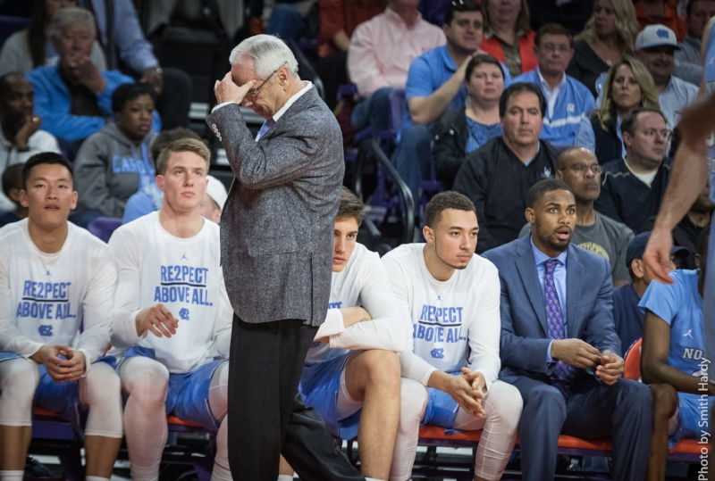 Roy Williams' team has already matched its loss total from last season. But maybe that's not the death note it appears to be. | Photo by Smith Hardy
