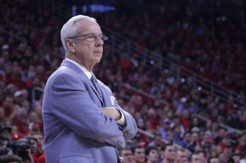 Roy Williams (above) was none too pleased with his UNC team after losing to N.C. State two weeks ago. On Saturday, his team responded. | Photo by Gabi Palacio