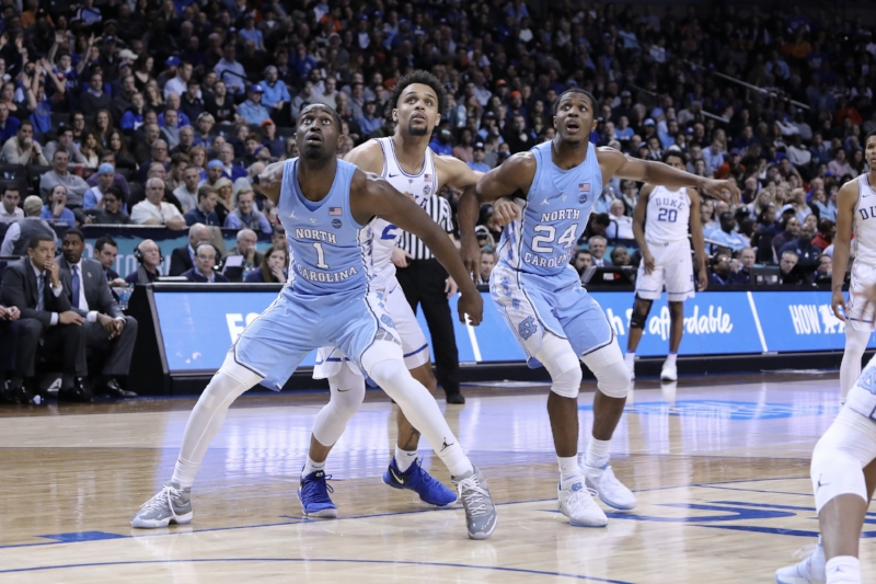 The Tar Heels don't have the size as they did in previous years, but they're the best rebounding team in the country because of how effectively they box out and crash the boards — like they did against a bigger Duke team in Friday's ACC Tournament win. | Photo by Caleb Jones