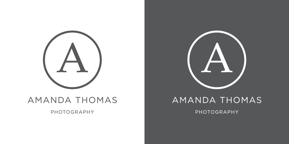 Amanda Thomas Photography logo design