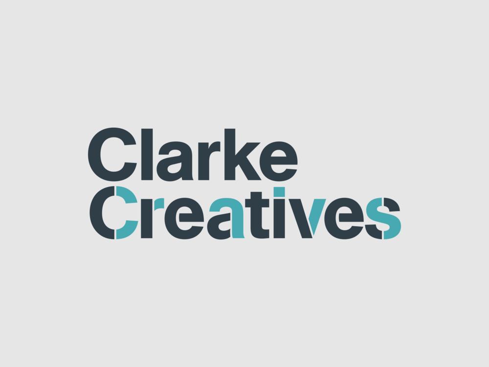 Clarke Creatives logo brand identity