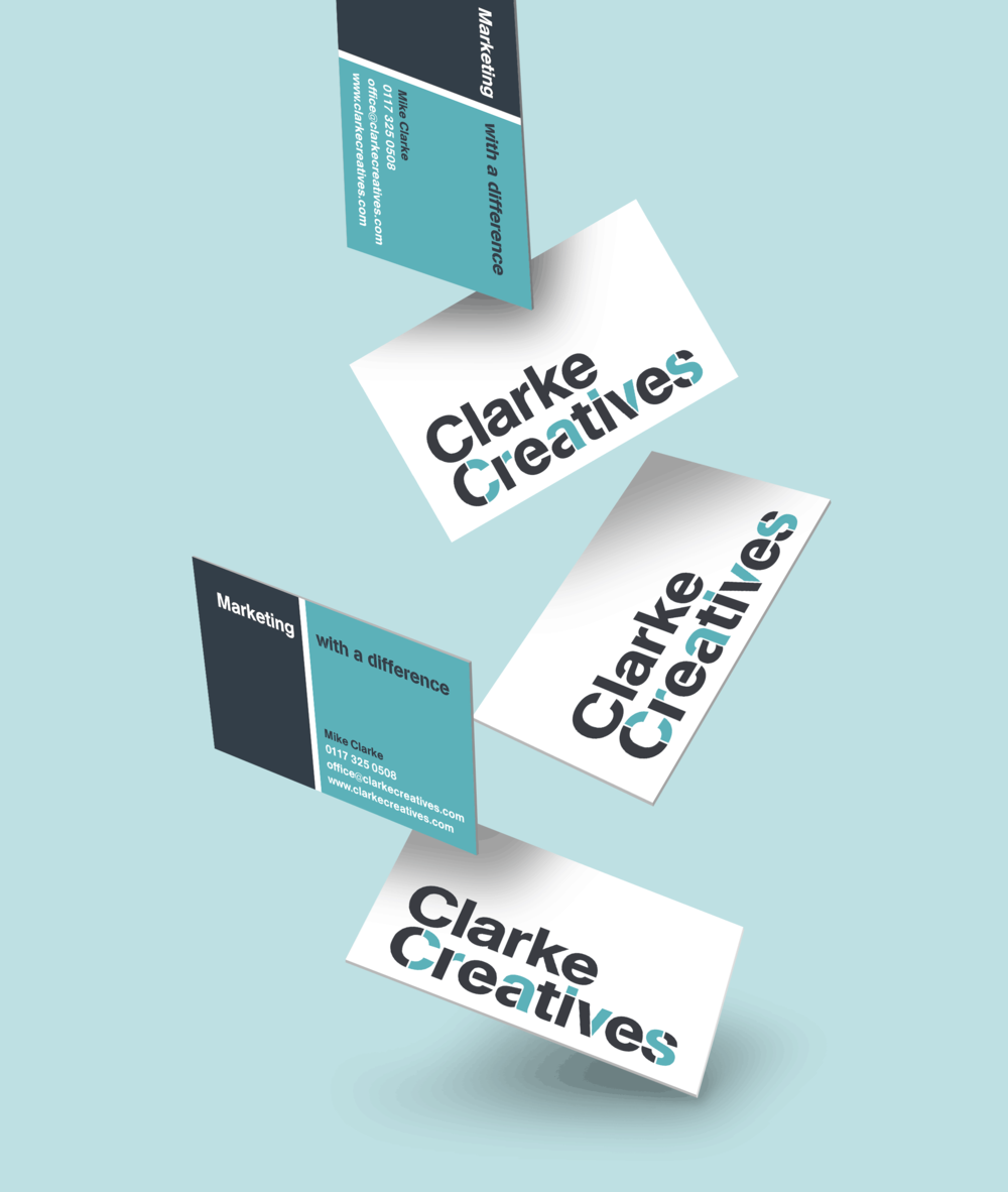 Clarke Creatives business card design