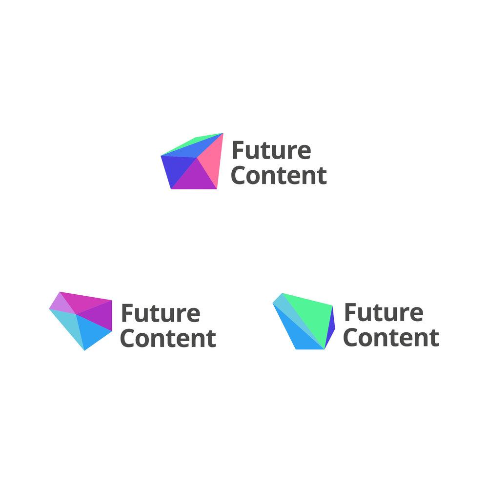 Future Content brand identity