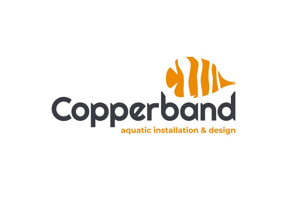 Copperband logo on white
