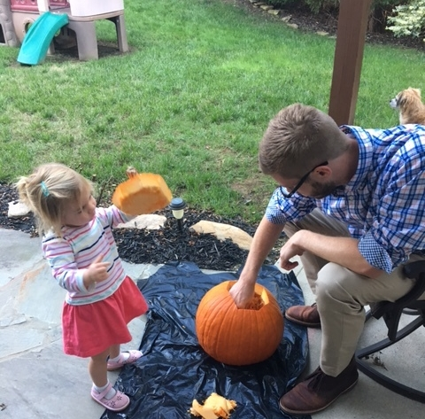 Carving pumpkin.JPG