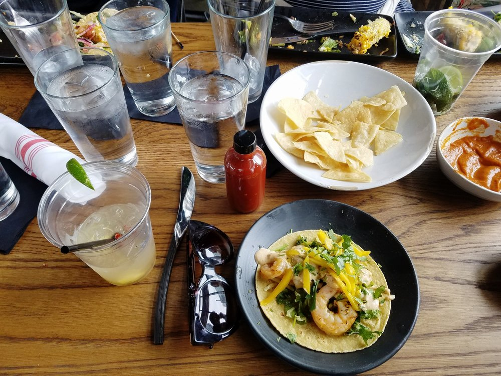 Wild Rock Shrimp Taco @ Mexicue in Stamford, CT.
