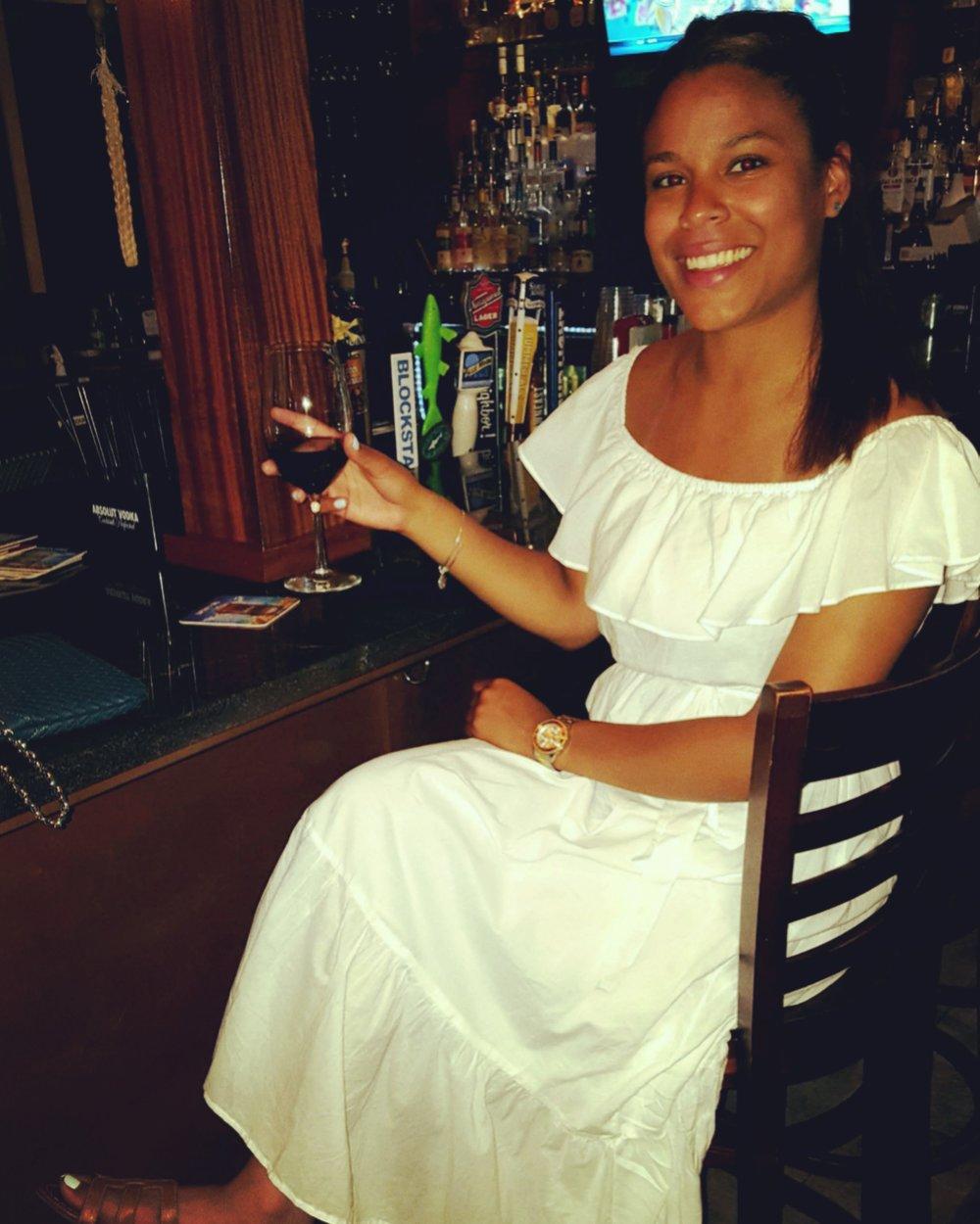 White Dress @ George's of Galilee