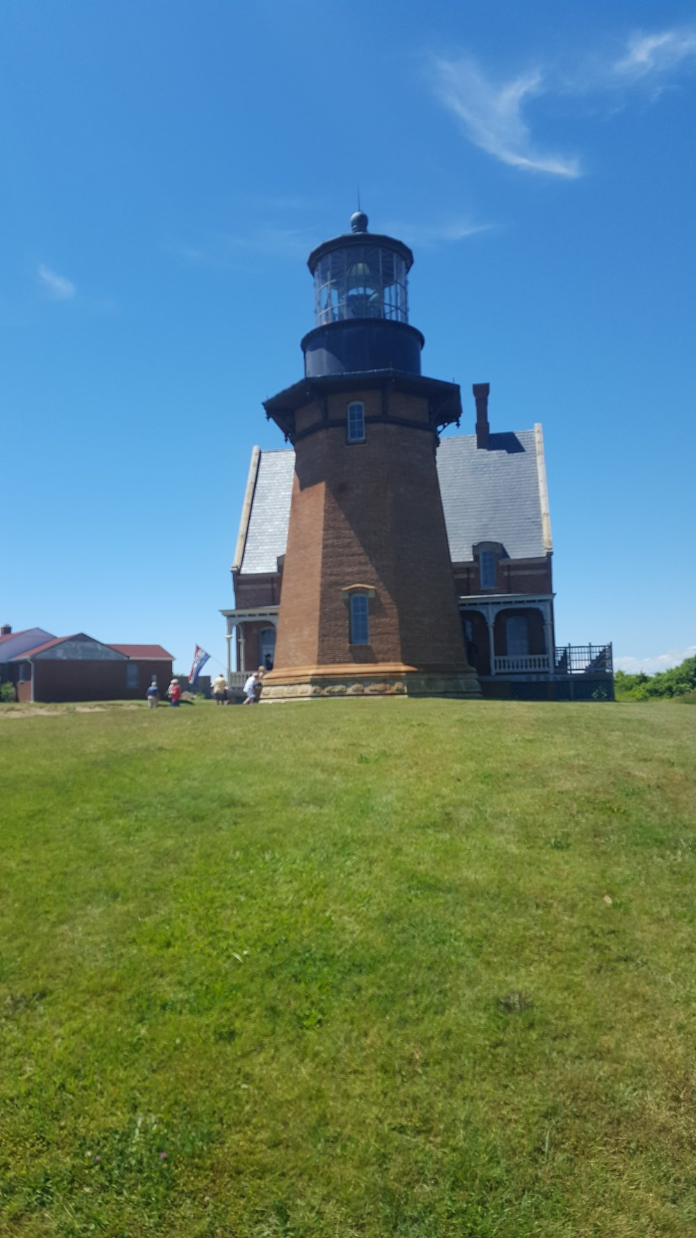 Southeast Lighthouse on Block Island, RI