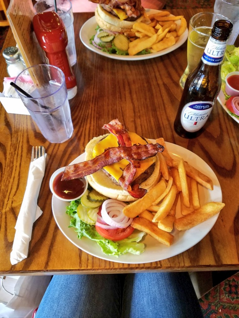 Cooper's Burger @ Cooper's Pub & Restaurant in Monterey, CA