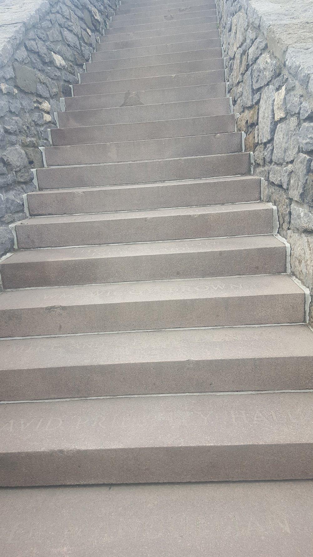 Rhode Island Cliff Walk 40 Steps 2