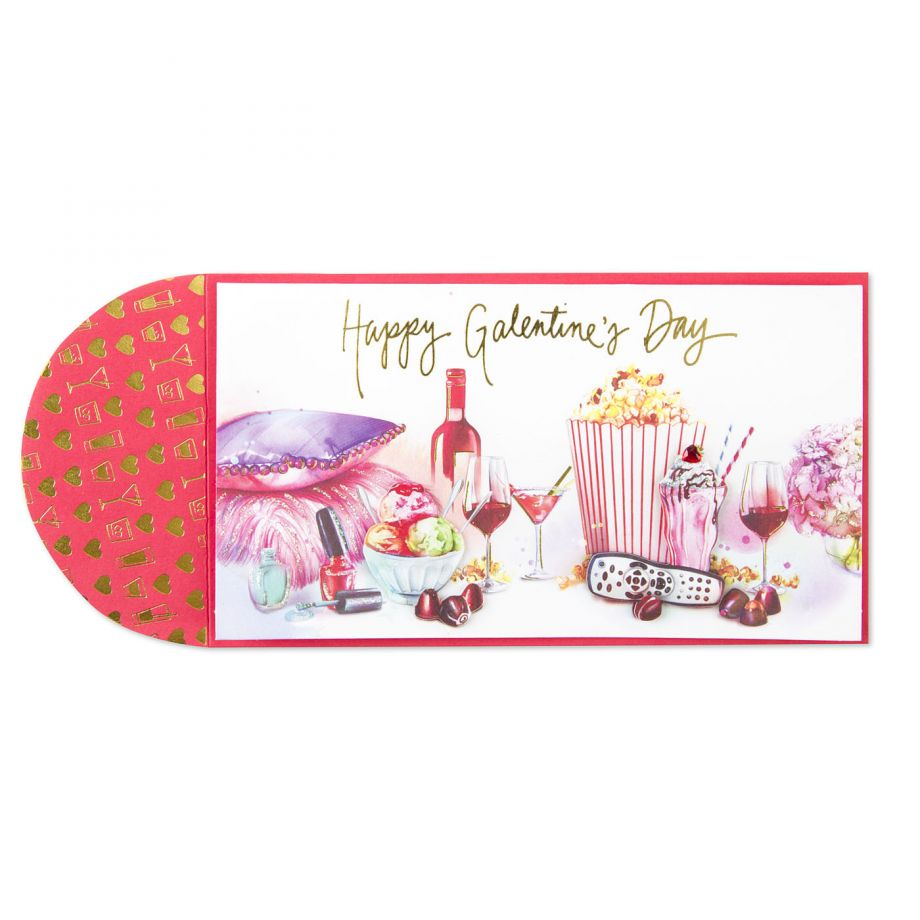 Happy Galentines Day Card by Bird and Quill at Papyrus.jpg