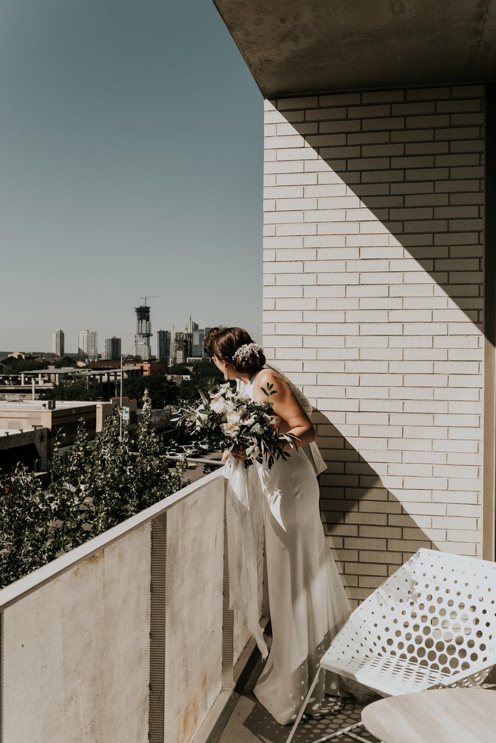 Intimate Wedding at South Congress Terrace in Austin, Texas