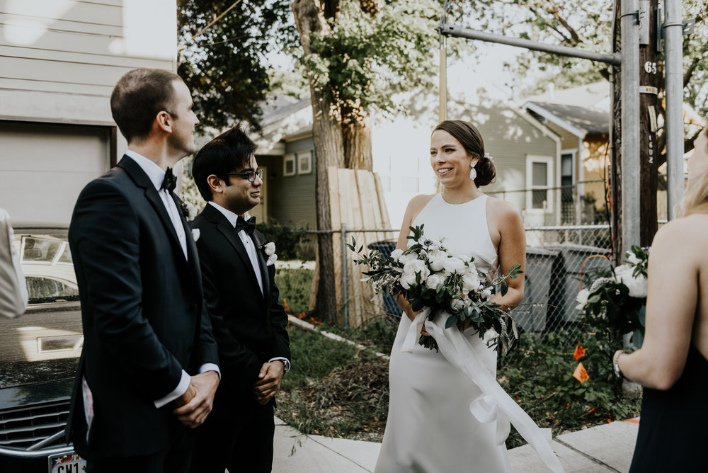 Intimate Wedding Day Ceremony Photos in Austin, Texas
