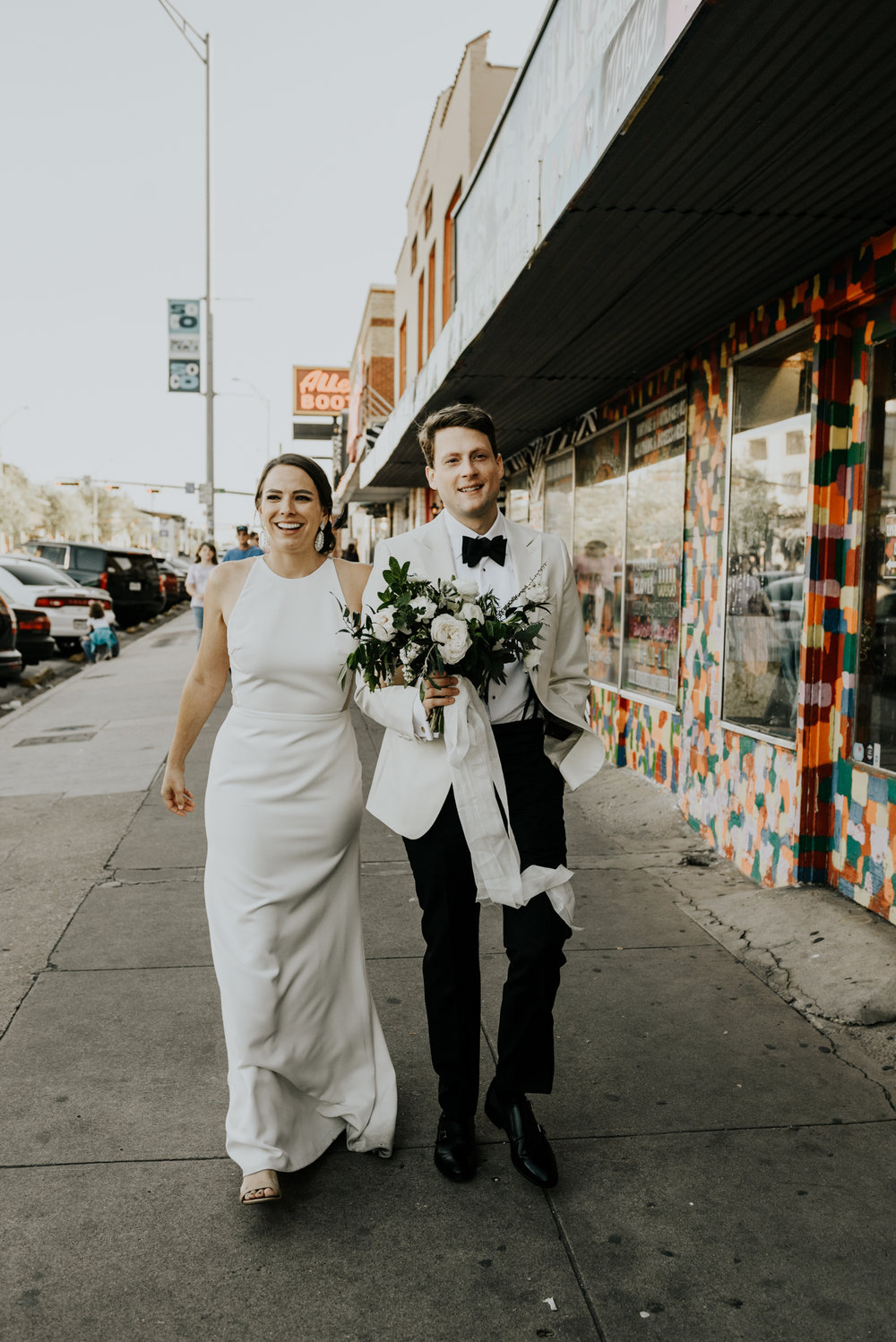 Intimate Wedding at South Congress Hotel in Austin, Texas
