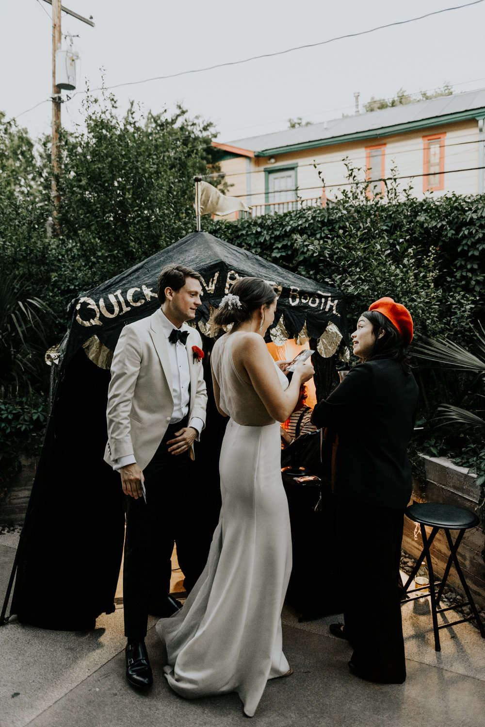 Intimate Wedding Day in Austin, Texas