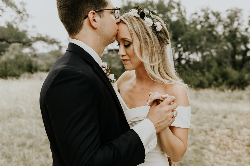 Boho Modern Wedding at the Prospect House in Dripping Springs, Texas