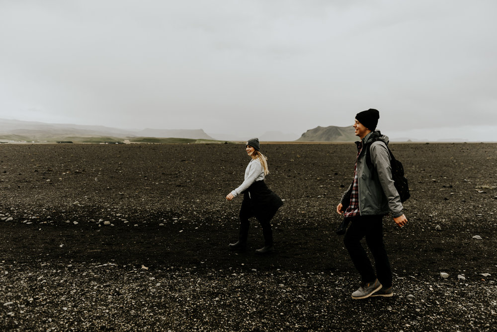 Adventurous Couples Session in Iceland