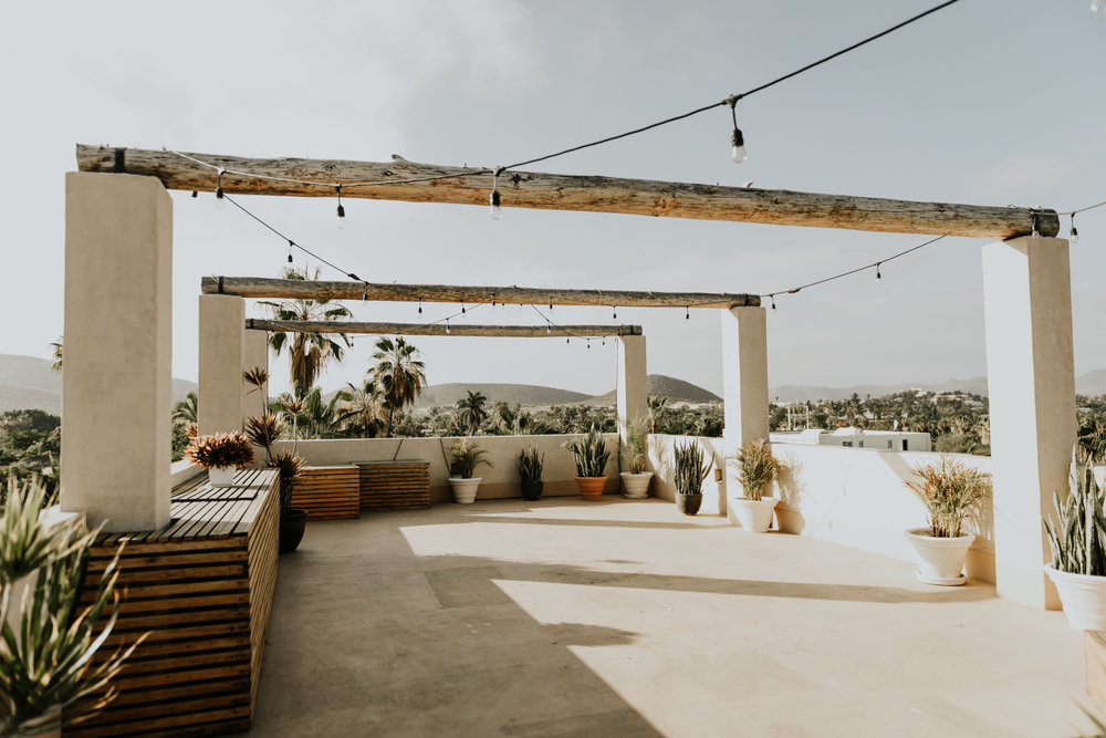 Destination Wedding in Hotel Casa Tota, Todos Santos