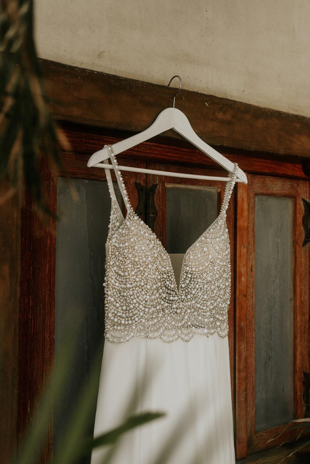 Destination Wedding Dress, Todos Santos, Mexico