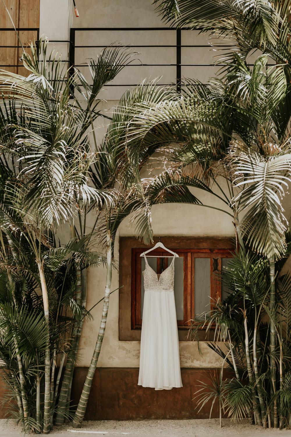 Destination Wedding Dress Todos Santos