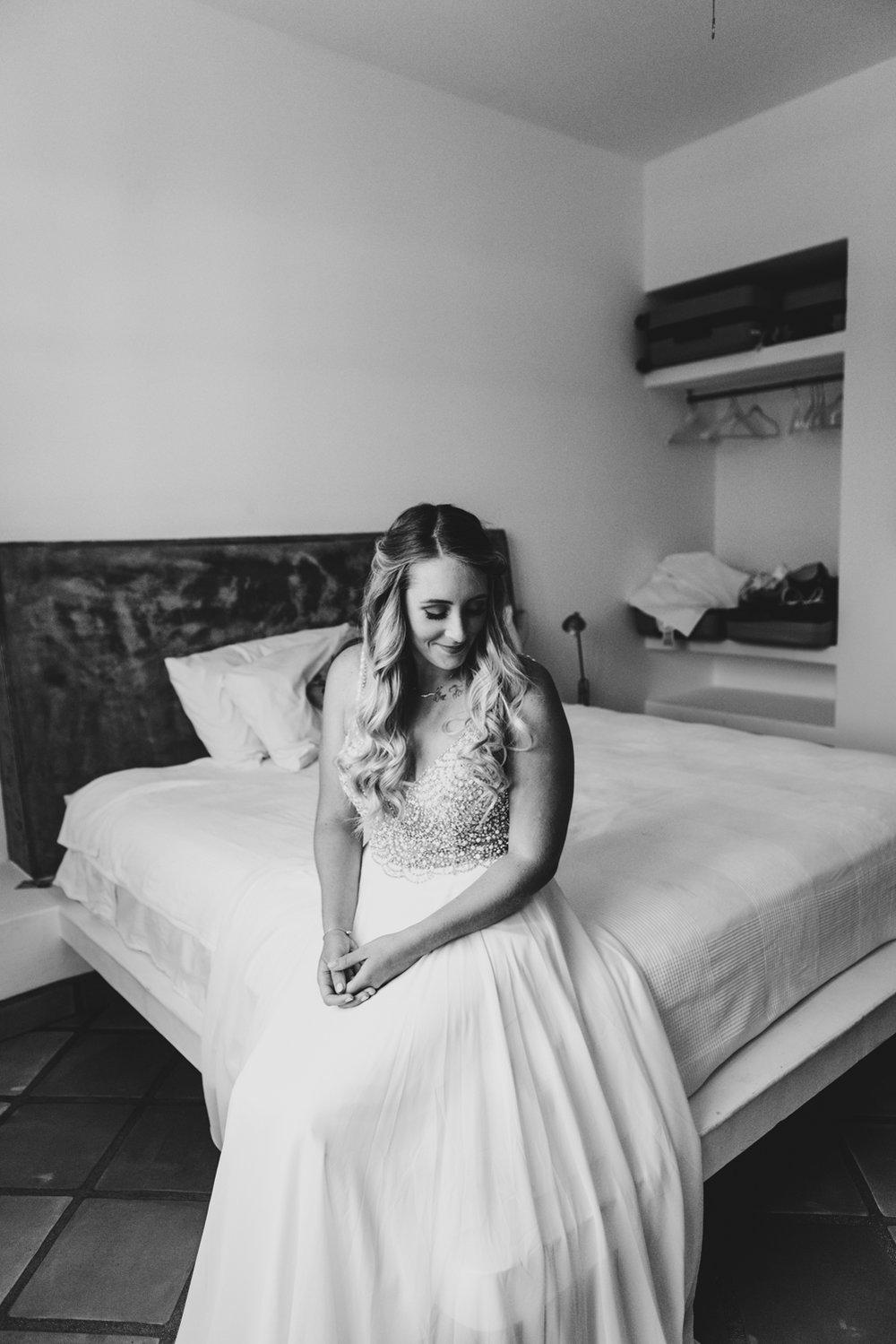 Adventurous Bride, Intimate Destination Wedding in Todos Santos, Baja California Sur, Mexico