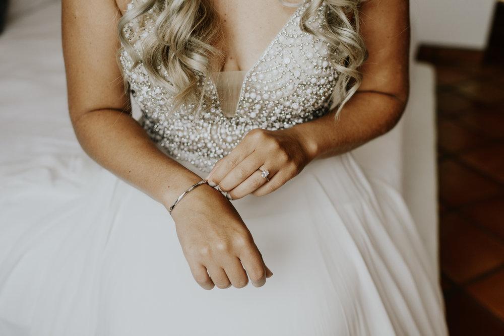 Bridal Details, Intimate Destination Wedding in Todos Santos, Baja California Sur, Mexico