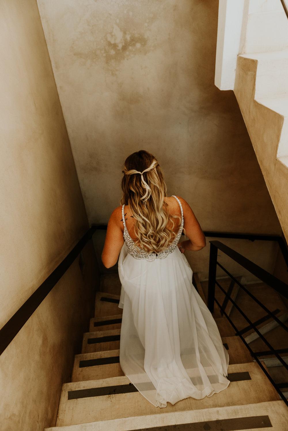Beautiful Bride Portrait, Intimate Destination Wedding in Todos Santos, Baja California Sur, Mexico