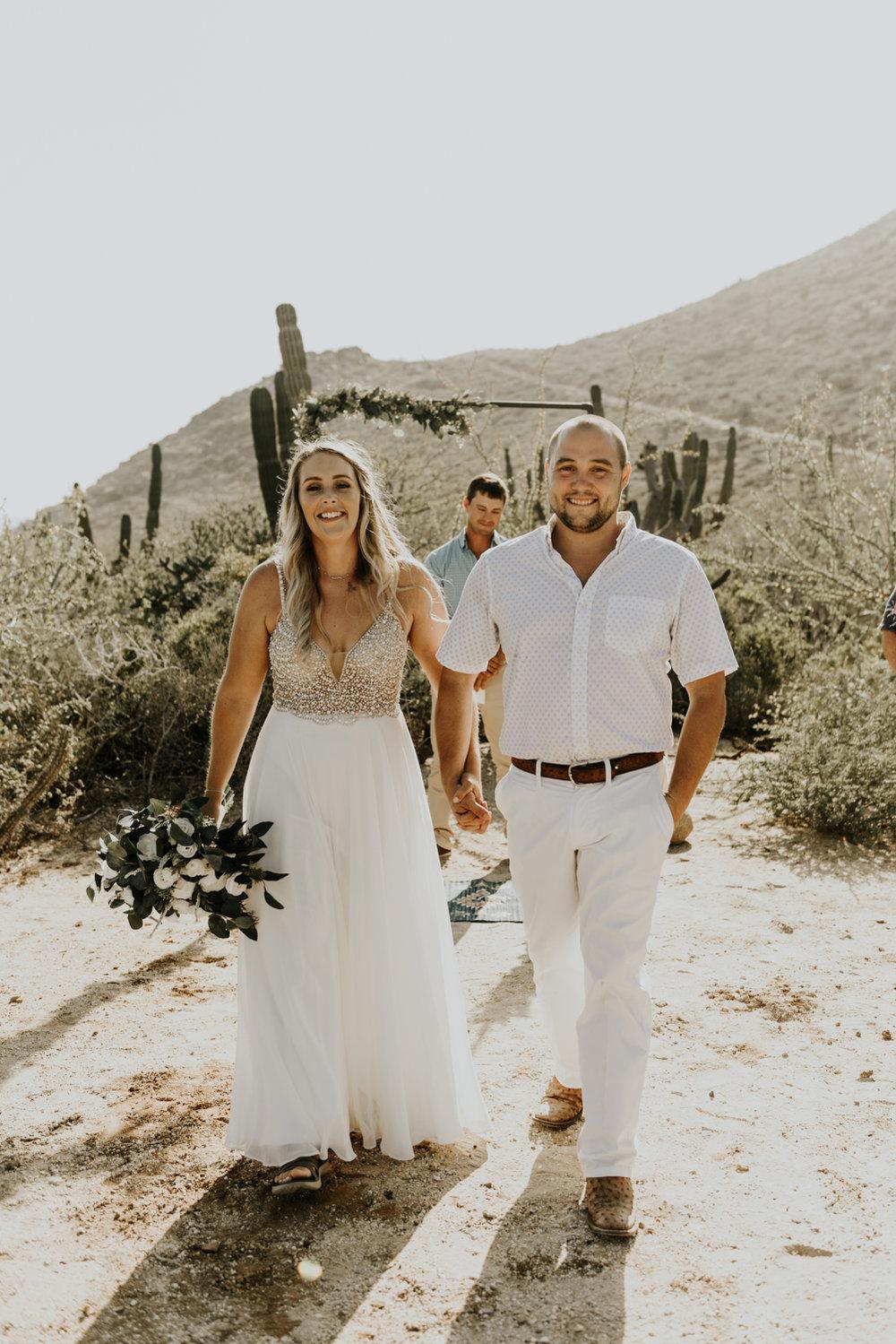Intimate Wedding Ceremony photos in Todos Santos, Baja California Sur, Mexico