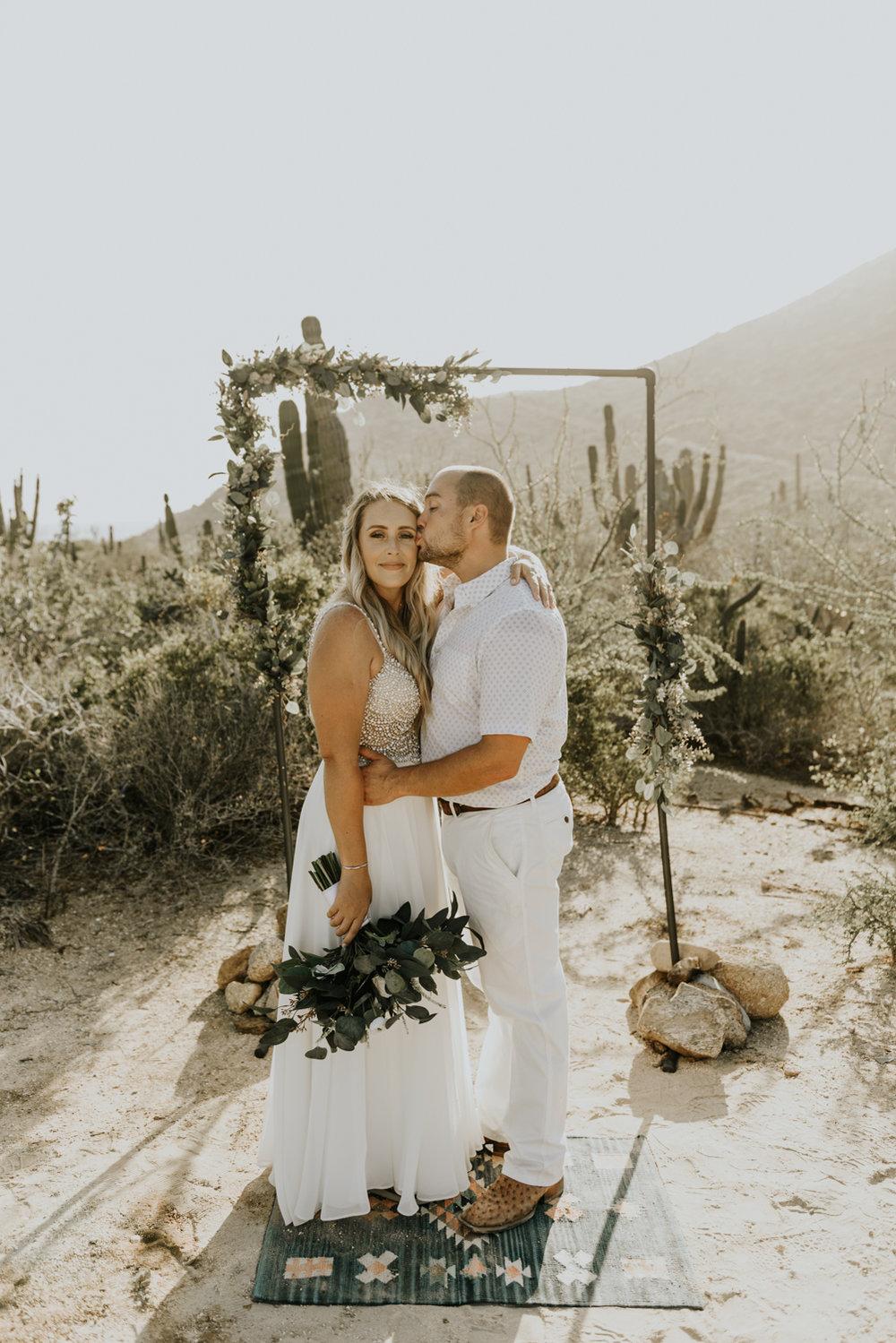 Intimate Wedding photos in Todos Santos, Baja California Sur, Mexico
