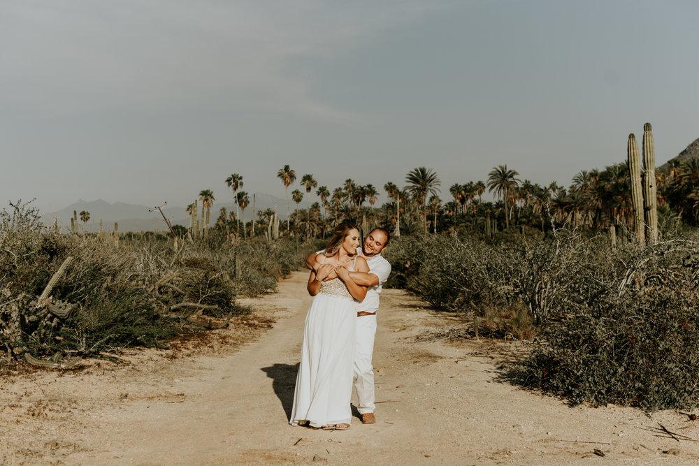 Elopement photos in Todos Santos, Baja California Sur, Mexico