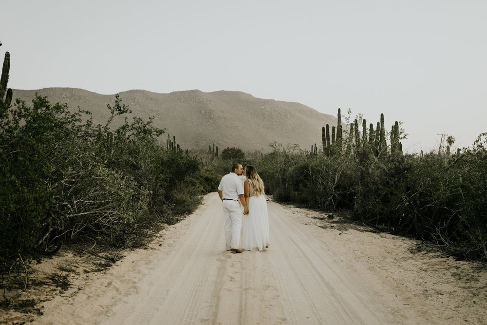 Intimate Elopement Wedding Photographers In Baja California