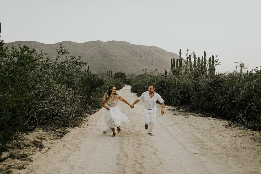 Intimate Elopement Wedding Photographers In Todos Santos, Baja California Sur, Mexico
