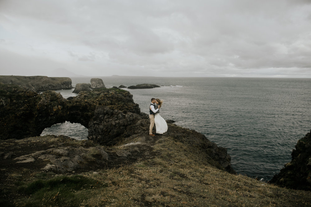 Destination Elopement Photographer in Vik, Iceland