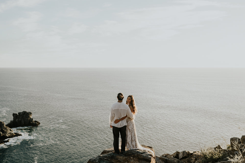 Couples Anniversary Adventure Session on the Baja California Sur Coast in Mexico