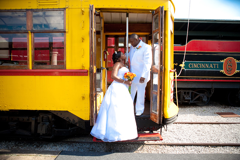 Chattanooga Choo Choo Wedding Pictures