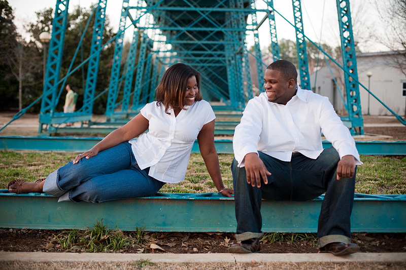 Chattanooga Wedding Photographer Coolidge Park Engagement Photos