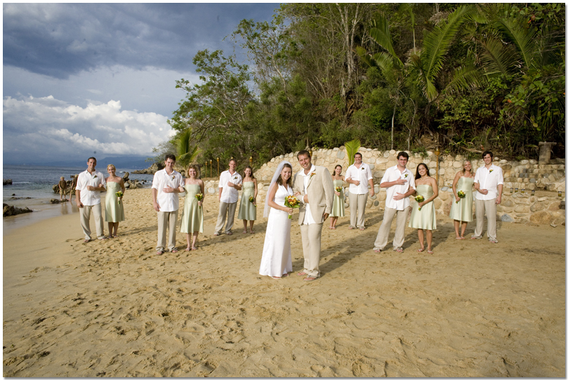 Puerto Vallarta Las Caletas Wedding Photographer