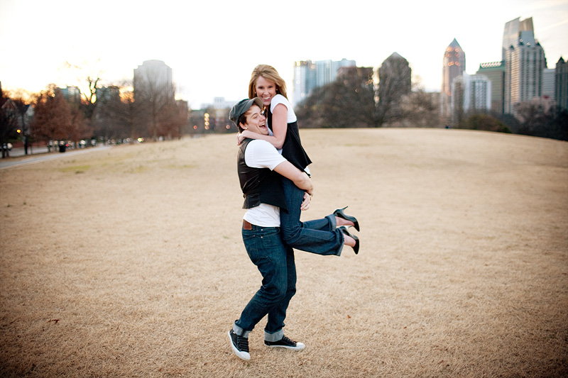 Atlanta Wedding Photographer Engagement Portraits