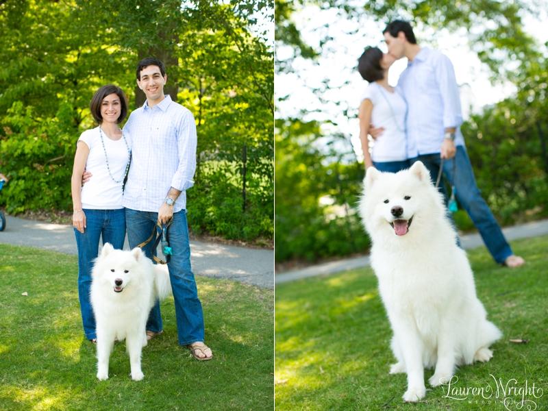 Engaged David Elise Piedmont Park Atlanta Wedding