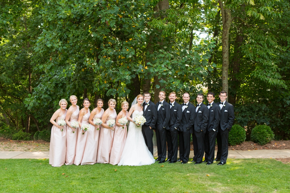 Elegant Pink and White Country Club of the South Wedding0026