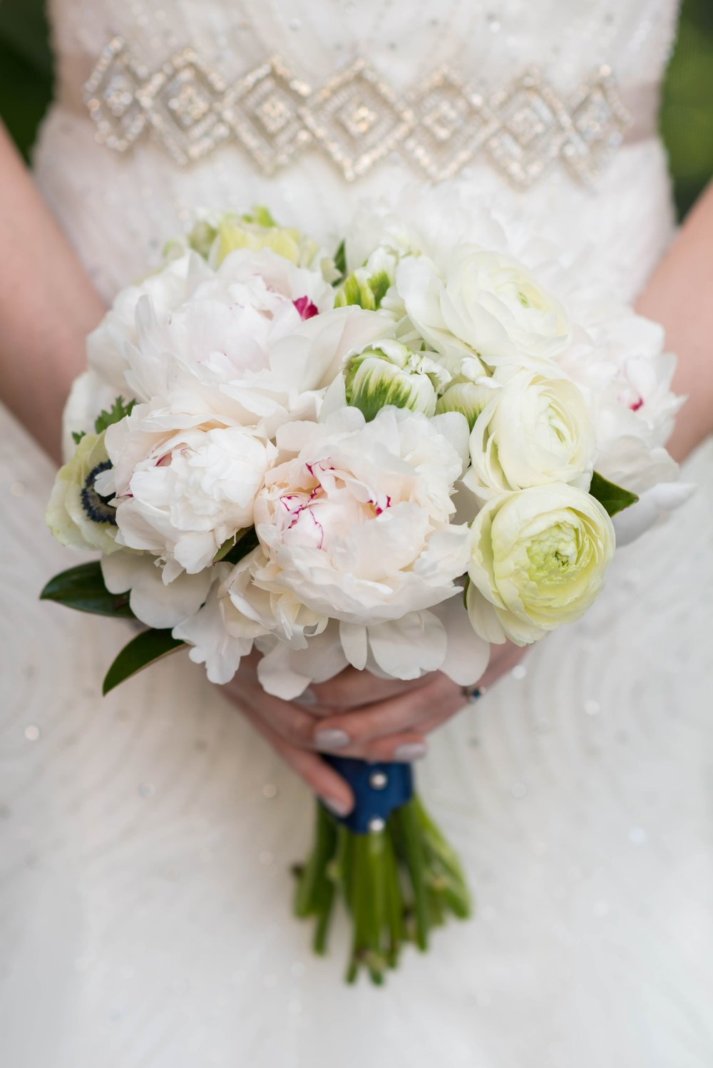 Beautiful blush bouquet by Atlanta wedding florist  K & Co Floral Design