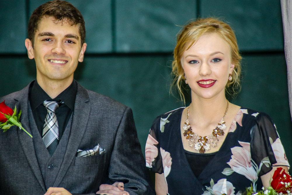 Kyle Davis and Lauren Clardy