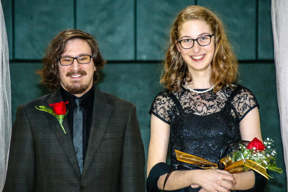 Ross Gates and Emily Yardumian
