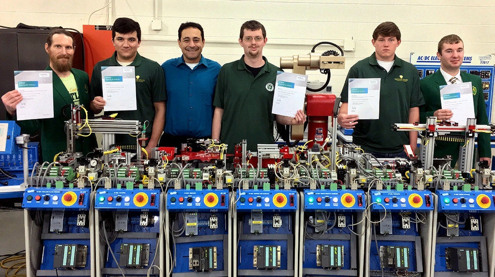 Motlow Fayetteville campus graduates Level 1 Mechatronics Certification class